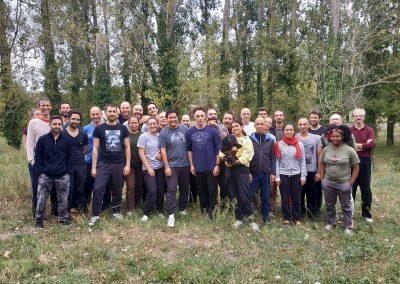 stage de systema organisé par l'ADDAM à à Toulouse avec Arend Dubbelboer - photo de groupe 1